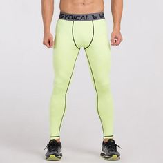 Mens Compression Tights Skin Pants Running Jogging Jogger Fitness Exercise Gym Athletic Long Pant Spandex Quick Dry 071 S Basketball Compression Pants, Mens Compression Pants, Trouser Outfits, Shorts With Tights, Women Sleeve, Long Pants, Skinny Pants, Fashion Pants, Leggings Fashion