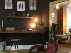 working place, Ethnostyle,  black is beautiful!