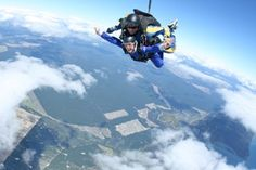 Best day ever. Skydiving at Lake Taupo, New Zealand