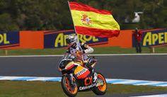 Marc Márquez (motociclismo) 2 veces campeón del mundo de Moto GP