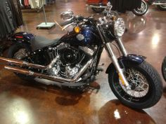 2013 H-D® Softail® Slim Showroom condtion only 760 miles priced to sale $13,995 Used Harley Davidson, Car Detailing, Showroom, Motorcycle, Slim, Vehicles, Things To Sell, Motorcycles, Cars