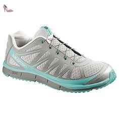 Salomon KALALAU W Chaussures de Running Femme Gris Bleu SALOMON T:36 2/3 - Chaussures salomon (*Partner-Link)