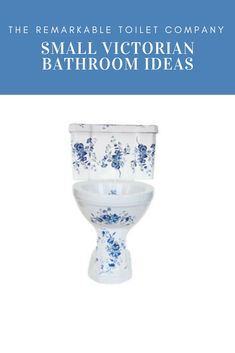 For those of you with little space in your bathroom but you're still keen on embracing the trend for Victorian style, we've come up with just the board for you. Take our Victorian floral blue and white close coupled toilet for example. It's neat, compact and utterly stylish at £850. Don't forget, we ship worldwide too! #victorian #victorianstyle #periodstyle #bathrooms #bathroomdesign designerbathroom