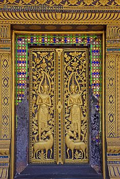 Intricate Door, Luang Prabang, Laos