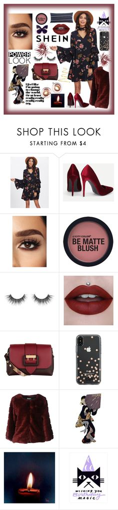 """""""Sheln"""" by explorer-14673103603 on Polyvore featuring Burberry, Kate Spade and AT.P.CO"""