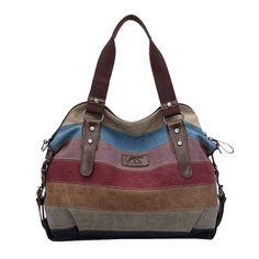 K-988 high quality Fashion women Bags Canvas Super patchwork bag Shopping Handbag Tote Casual Beach Shoulder Bag Totes w52