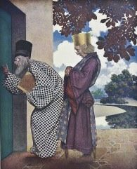 The Knave - Maxfield Parrish