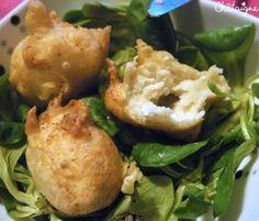 Beignets de fromage de chèvre frais - Blog de Châtaigne