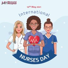 Thanks for taking such good care of people on the most difficult days of their life. 🙇♂️ Thanks for your unconditional services and patience.☺️ Happy Nurses Day, Memorial Hospital, Patience, Memories, People, Life, Memoirs, Souvenirs, People Illustration