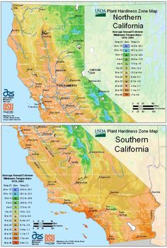 Climate Zones Northern California Gardens Amp Lawns Incl