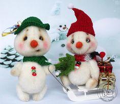 Ташкины мишки Teddy Bears: Новогодне-рождественская компашка :)