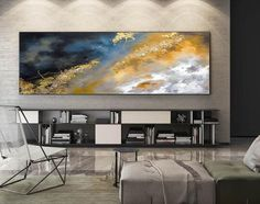 Original Painting Canvas Modern Abstract Oil Art Large Canvas Art Paintings on Canvas Wine Wall Original Abstract Painting by Julia Kotenko Modern Oil Painting, Blue Abstract Painting, Painting Edges, Large Painting, Abstract Wall Art, Black Painting, Tulip Painting, Texture Painting, Large Wall Canvas