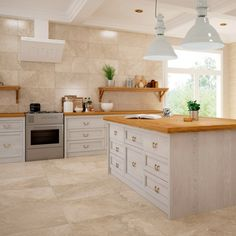 Stonebox Beige | Stone Effect Tiles | Porcelain Superstore