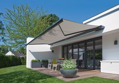 modern electric awning - Google Search