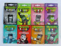 the 2013 Crayola Halloween crayons Crayola Set, Easy Arts And Crafts, Kids Crafts, Crayola Products, Age Regression, Shops, Anime Fnaf, Outdoor Halloween, Desk Supplies