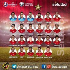 Convocatoria #Selección Española Agosto 2014