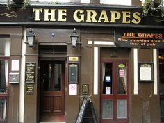 The Grapes, Liverpool. This is the pub that The Beatles used to get drunk in after performing gigs at The Cavern Club. I had a pint of Guinness in here!