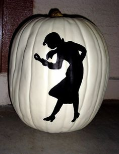 Nancy Drew pumpkin -- this may be our VERY favorite!!!