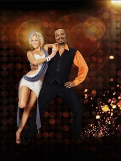 Kym Johnson and David Alan Grier in Dancing with the Stars 8