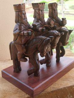 Tres Reyes Magos a Caballo Three wise men on horse by DepigmentART