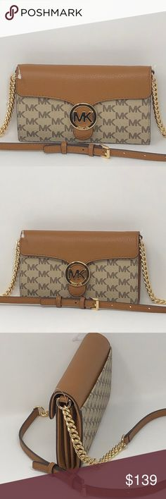 ed0495f8f8ce57 Spotted while shopping on Poshmark: Nwt Michael kors Vanna large phone  crossbody! #poshmark