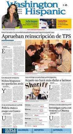 Edición impresa del 31 de mayo de 2013: http://washingtonhispanic.com/index.php?mod=historico=290