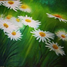 Margarety Akryl na plátne, 60x50 Diy And Crafts, Plants, Art, Art Background, Kunst, Plant, Performing Arts, Planets, Art Education Resources