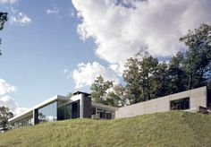 Introducing Catskill Mountain House in Catskill Mountains, New York by Audrey Matlock. Built based on simple forms and applying fluidity within spaces, the home becomes a retreat where architecture and nature become one.