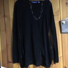 Simply Vera Long sleeve shirt  Simply Vera Black long sleeve shirt  Simply Vera Vera Wang Tops