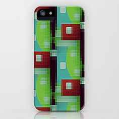 8 Bit Retro Byte  iPhone & iPod CaseSO COOL for Dorm or Teen/Tween/Toddler bedroom design - see all coordinating products with this design in our shops www.cafapress.com/drapestudio  and www.zazzle.com/drapestudio and www.etsy.com/drapestudio ALSO available in fabric by the yard www.spoonflower.com/profiles/drapestudio