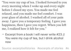 Excerpt from a book I will never write #23