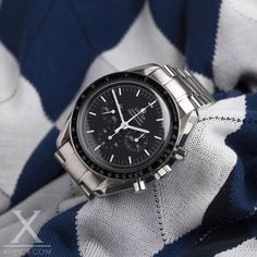 #Omega #Speedmaster in Stainless Steel | xupes.com