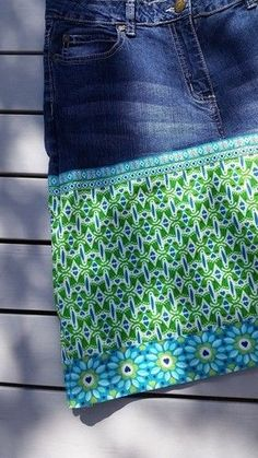 Sonstige Jeanstasche Handarbeit Upcycling Kindergarten Kinder Kids Gestreift Strass Kleidung & Accessoires