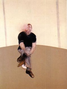 Francis Bacon, study for self portrait left panel.jpg 1985-6
