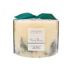The best Christmas candles: The White Company Fir & Berry Signature Candle, £35