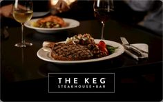 $50 The Keg Gift Card Giveaway