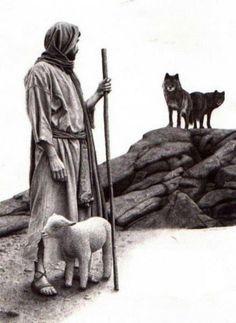 """I am the Good Shepherd; the Good Shepherd lays down His life for the sheep,"" John 10:11."