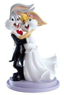 figura tarta para bodas de looney tones