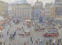 Piccadilly Circus by Léon de Smet