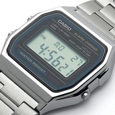 Casio Retro Digital Unisex Watch Original Factory New Digital Silver. Casio Wristwatch second digital stopwatch. My Childhood Memories, Childhood Toys, Sweet Memories, Poste Radio, Good Old Times, My Memory, The Good Old Days, Vintage Toys, The Past