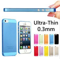スリム超薄型5 ケース カラフル な半透明の デザイン マット バック カバー電話ケース iphone用5 5 s用iphone 5 s ケース