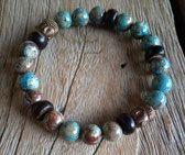 Bracelet Paradise Rock, Artisanal, Beaded Bracelets, Paradise, Jewelry, Statement Bracelets, The Divine, Jewelry Ideas, Jewlery