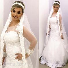 Gente, olha que linda a Marina ������ Nossa princesa de hoje ❤️ Makeup Mayara Bandeira Hair Bete Souza  #noiva #noivas #noivassp #noivas2017 #noivasdobrasil #diadanoiva #noivadodia #casamento #casamentos #casamentodoano #bride #bridehair #bridetobe #bridemakeup #wedding #weddingday #weddingdress #mac #loucaspormaquiagem #pausaparafeminices #universodamaquiagem #maquiagembrasil #maquiagem_insta http://gelinshop.com/ipost/1518932017658533924/?code=BUUVJ9WgRgk