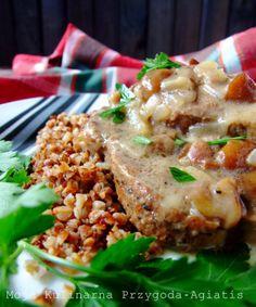 Moja kulinarna przygoda: Karczek w sosie grzybowym