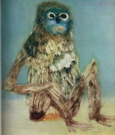 Sidney Nolan - Blue Monkey Australian Painting, Australian Artists, Art Images, Art Pictures, Sidney Nolan, Illustrations, Illustration Art, Art Brut, Aboriginal Art