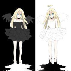 Angel Of Death, Anime Love Couple, I Love Anime, Satsuriku No Tenshi, Pokemon Pictures, Anime Art Girl, Anime Shows, Attack On Titan, Anime Manga