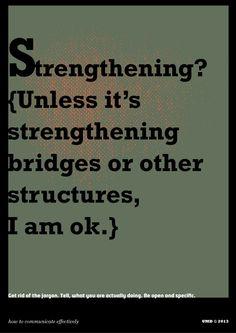 Strengthening?