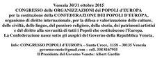 L'INDIPENDENZA DI SAN MARCO: GOVERNO VENETO, STASERA A MONTECCHIO MAGGIORE VICE...