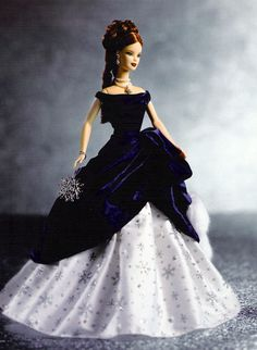 Barbie Collector Dolls by Heather Fonseca at Coroflot.com  Holiday Treasure