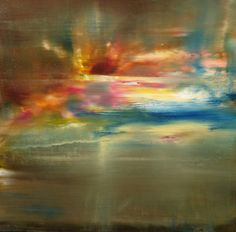 """Saatchi Online Artist: Maurice Sapiro; Oil 2013 Painting """"Oh What A Beautiful Morning"""""""
